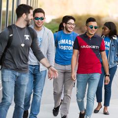 Six UMass Boston students