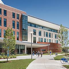 University Hall exterior shot