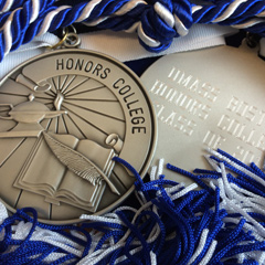 Honors College medallions