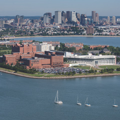 The University of Massachusetts Boston is on the water, minutes from downtown Boston